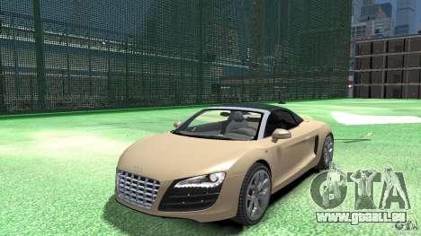 Audi R8 Spyder v10 [EPM] pour GTA 4