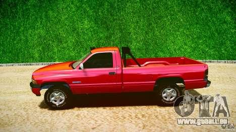 Dodge Ram 2500 1994 pour GTA 4 est un côté