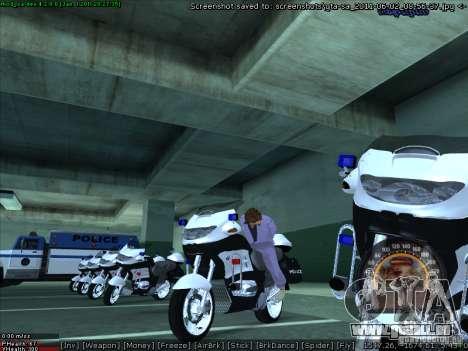 CopBike für GTA San Andreas rechten Ansicht