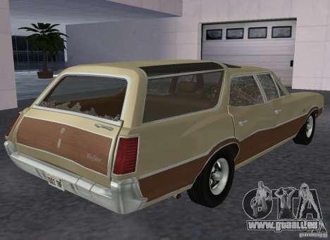 Oldsmobile Vista Cruiser 1972 pour GTA San Andreas vue de droite