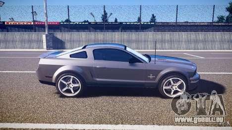 Shelby GT500kr für GTA 4 Seitenansicht