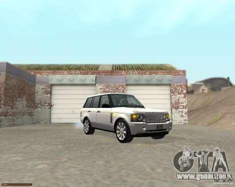 Land Rover Range Rover Supercharged 2008 für GTA San Andreas Rückansicht