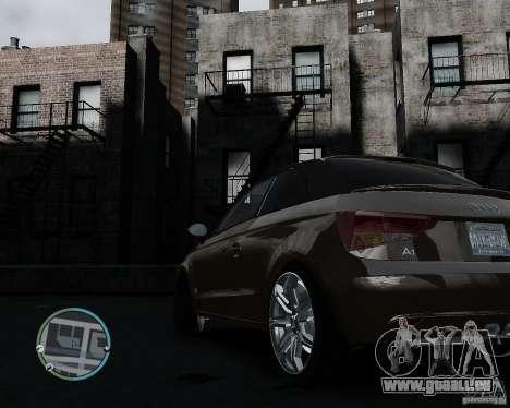 Audi A1 v.2.0 pour GTA 4 Vue arrière