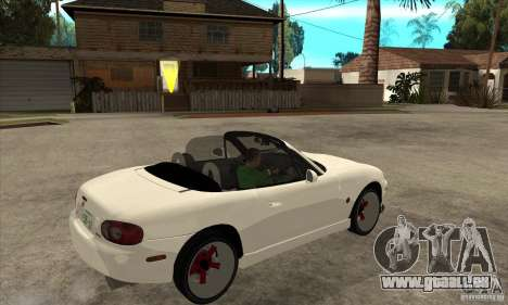 Mazda MX-5 JDM Convertible für GTA San Andreas rechten Ansicht