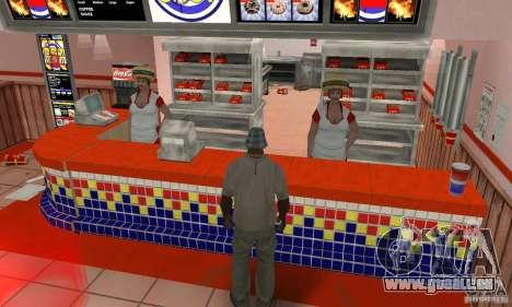 Restaurants McDonals für GTA San Andreas fünften Screenshot