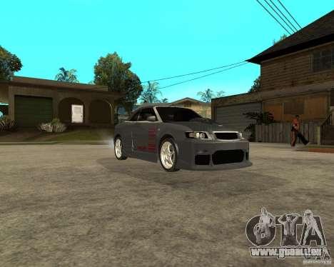 AUDI A4 Cabriolet für GTA San Andreas Rückansicht