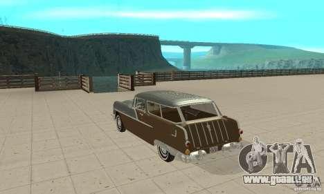 Pontiac Safari 1956 für GTA San Andreas zurück linke Ansicht