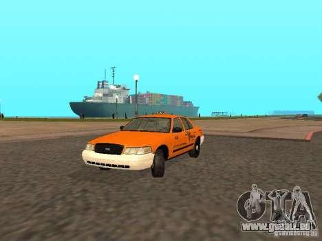 Ford Crown Victoria San Francisco Cab für GTA San Andreas linke Ansicht