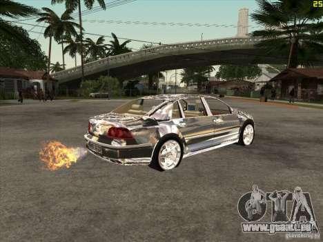 VW Phaeton verchromt für GTA San Andreas rechten Ansicht