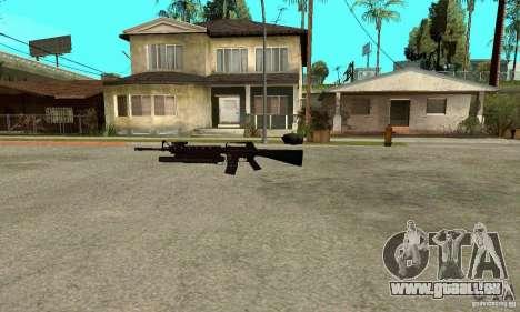 M16A4 + M203 für GTA San Andreas zweiten Screenshot