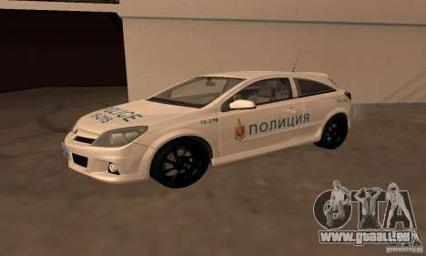 Opel Astra GTS pour GTA San Andreas vue intérieure