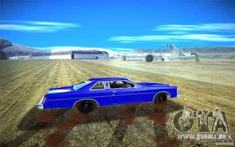 Ford LTD Coupe 1975 pour GTA San Andreas vue de droite