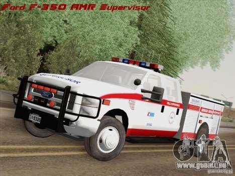 Ford F-350 AMR Supervisor für GTA San Andreas