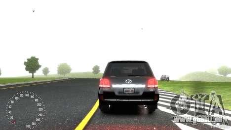Toyota Land Cruiser 200 RESTALE für GTA 4 Seitenansicht