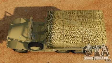 Dodge WC-62 3 Truck für GTA 4 rechte Ansicht