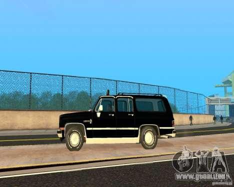 Сhevrolet 1986-Suburban für GTA San Andreas linke Ansicht