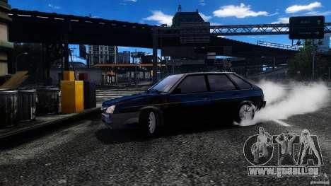 VAZ 2109 Drift Turbo für GTA 4 obere Ansicht