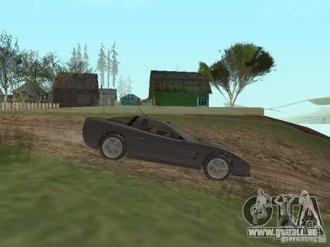 Guépard de GTA 4 pour GTA San Andreas laissé vue