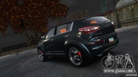 Kia Sportage 2010 v1.0 pour GTA 4 est une gauche