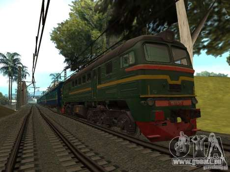 Eisenbahn-Änderung III für GTA San Andreas fünften Screenshot