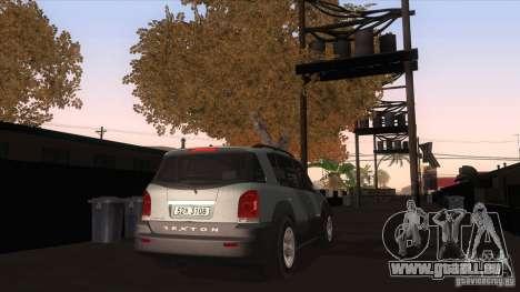 SsangYong Rexton 2005 für GTA San Andreas rechten Ansicht