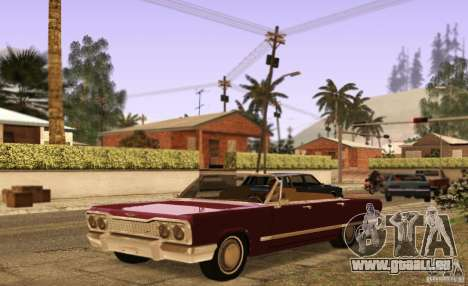 Savanna Detroit 1965 ( v. 2 ) pour GTA San Andreas