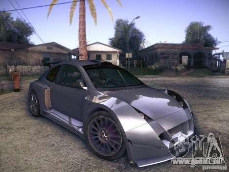 Colin McRae R4 pour GTA San Andreas vue de droite