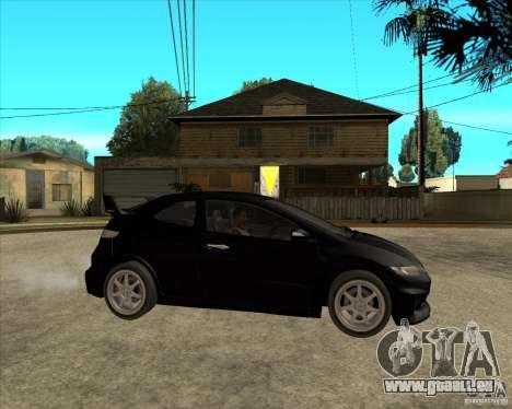 2009 Honda Civic Type R Mugen Tuning für GTA San Andreas rechten Ansicht