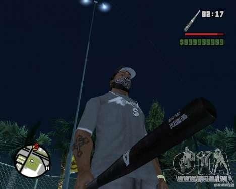 Bat HD pour GTA San Andreas deuxième écran