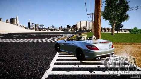 Mercedes-Benz SLK 2012 pour GTA 4 est un droit