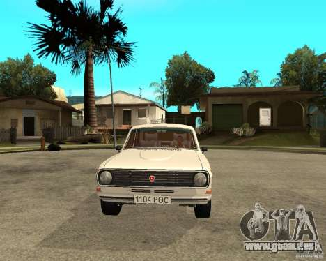 Volga Gaz 24-10 051 für GTA San Andreas Rückansicht