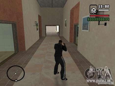Costume de ADIDAS pour GTA San Andreas deuxième écran