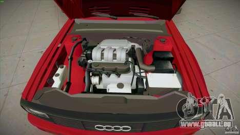 Audi Sport quattro 1983 pour GTA San Andreas vue de dessus