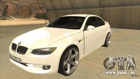 BMW 335i Coupe 2011 pour GTA San Andreas