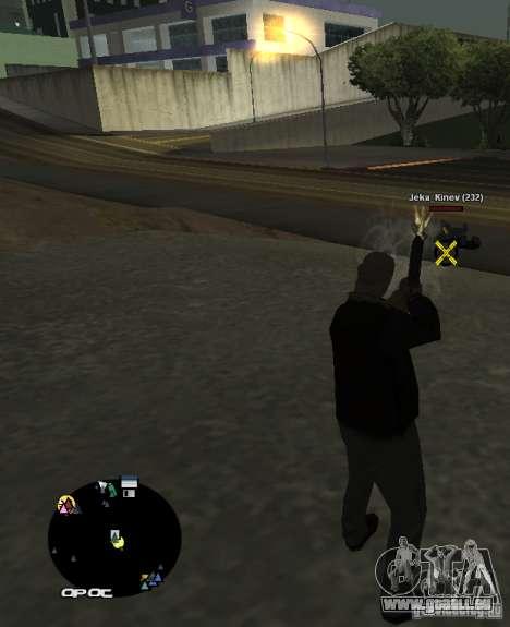 HUD №2 pour GTA San Andreas