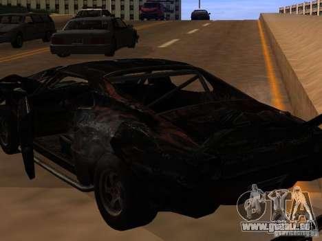 Car from FlatOut 2 pour GTA San Andreas vue intérieure
