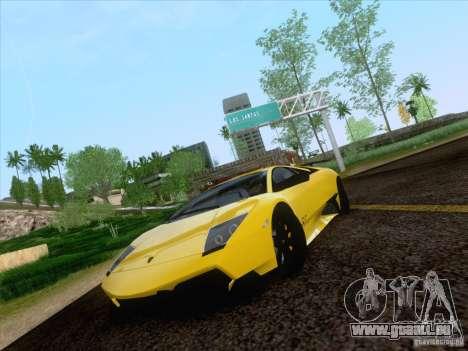 Lamborghini Murcielago LP670–4 SuperVeloce pour GTA San Andreas