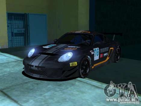Porsche Cayman S NFS Shift pour GTA San Andreas vue de côté
