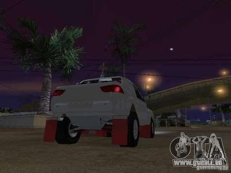 Mitsubishi L200 Triton pour GTA San Andreas sur la vue arrière gauche