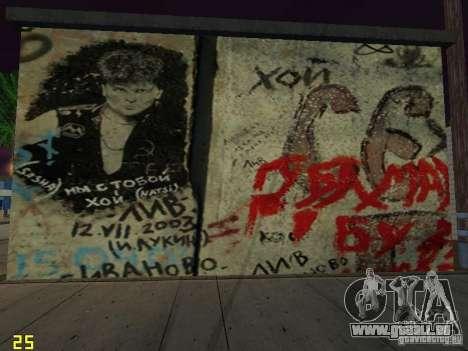 Wand der Erinnerung George Hoey für GTA San Andreas