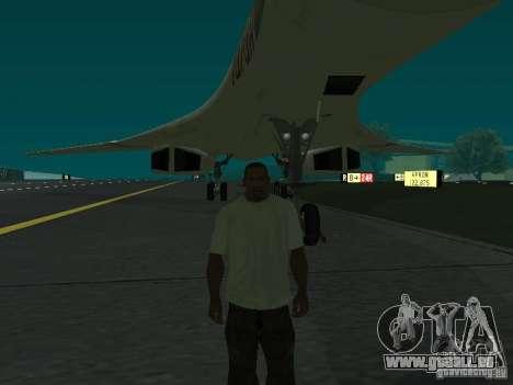 Le -160 pour GTA San Andreas sur la vue arrière gauche