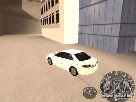 Mazda 6 2004 pour GTA San Andreas laissé vue