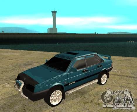 Mélodie sparco 21099 VAZ pour GTA San Andreas