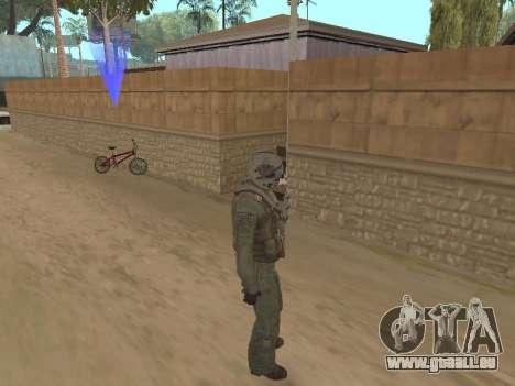 Avion de chasse pour GTA San Andreas deuxième écran