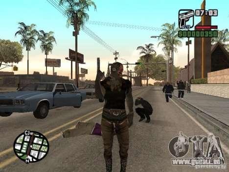 Zombe from Gothic pour GTA San Andreas deuxième écran