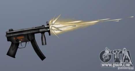 H&K MP5K pour GTA San Andreas quatrième écran