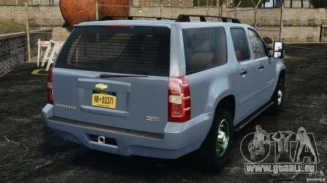 Chevrolet Suburban GMT900 2008 v1.0 für GTA 4 hinten links Ansicht