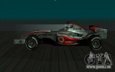 McLaren F1 für GTA San Andreas linke Ansicht