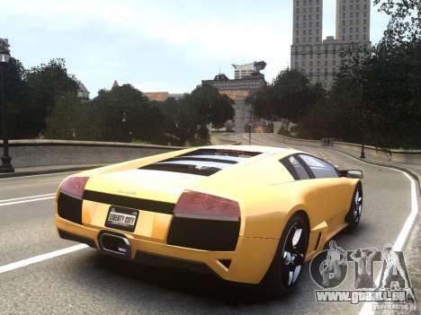 Lamborghini Murcielago LP640 2007 für GTA 4 linke Ansicht