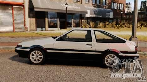 Toyota Sprinter Trueno GT 1985 Apex [EPM] für GTA 4 linke Ansicht